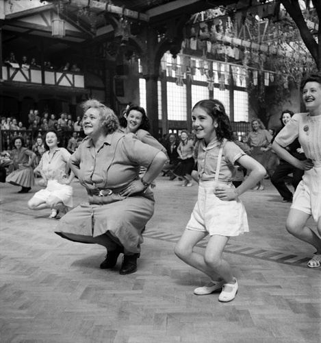 Butlins holiday camp, 1947 by Mirrorpix
