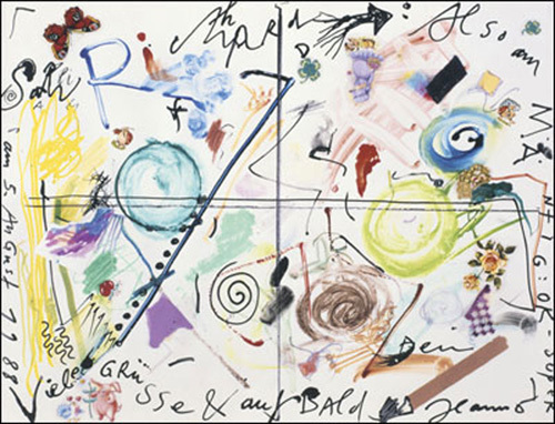 Salu Richard, 1988 by Jean Tinguely