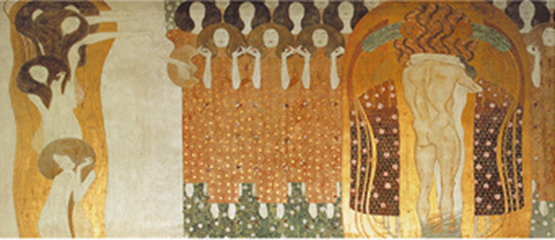 Beethovenfries by Gustav Klimt