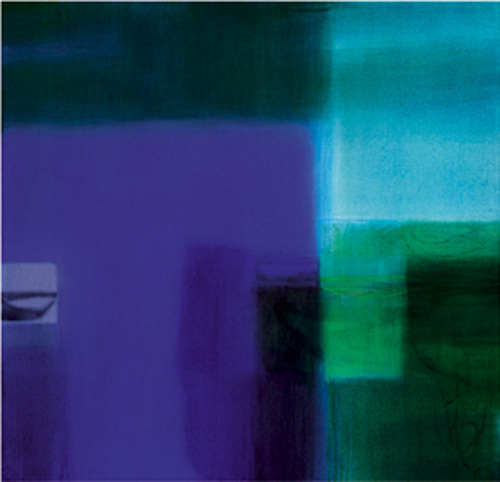 Untitled blue, 2004 by Susanne Stahli