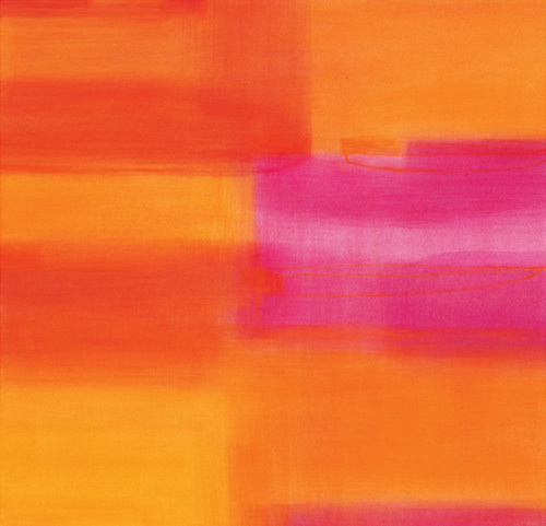 Untitled orange, 2004 by Susanne Stahli