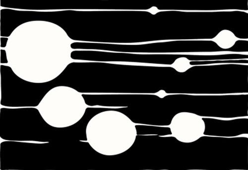 Untitled, 2009 (black) by Carl Abbott