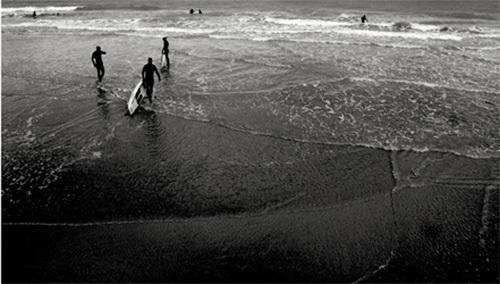 Surf 2, 2009 by Nicolas Le Beuan Benic