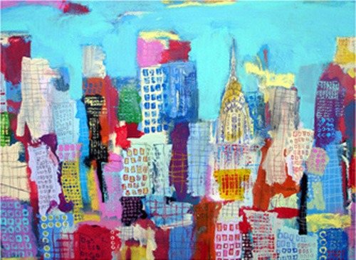 Manhattan 48, 2009 by Alison Black
