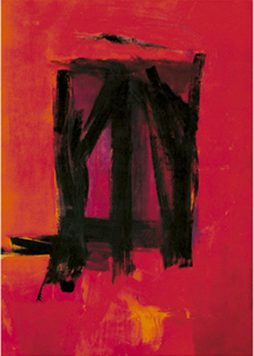 Red painting, 1961 by Franz Kline