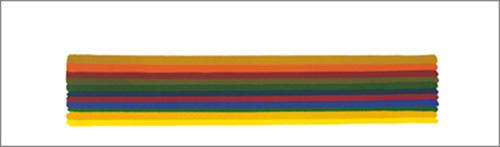 Horizontal l, 1962 by Morris Louis