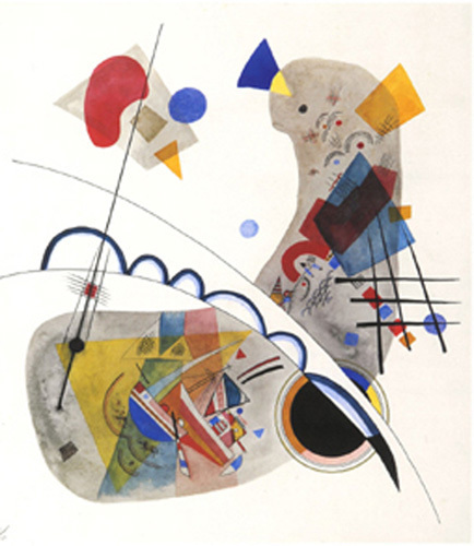 Graue Form, 1922 by Wassily Kandinsky