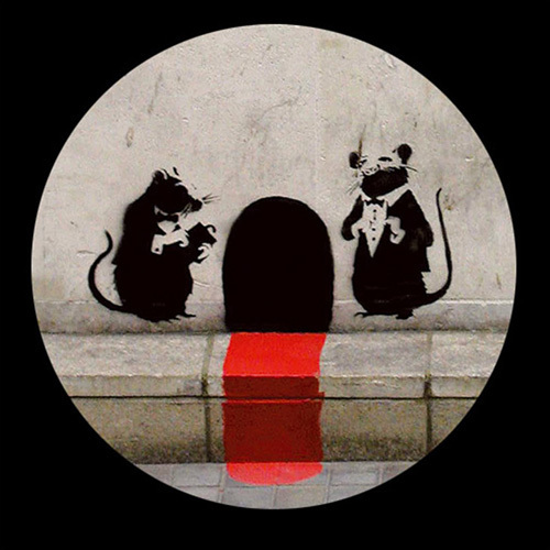 Red Carpet Rats by Street Art