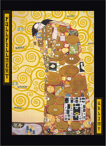 Fulfillment by Gustav Klimt