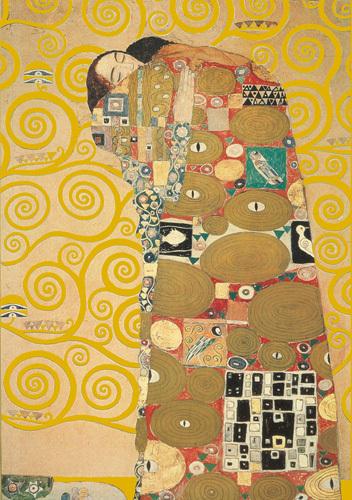 Fullfillment by Gustav Klimt