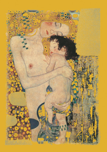 Three Ages of Woman by Gustav Klimt