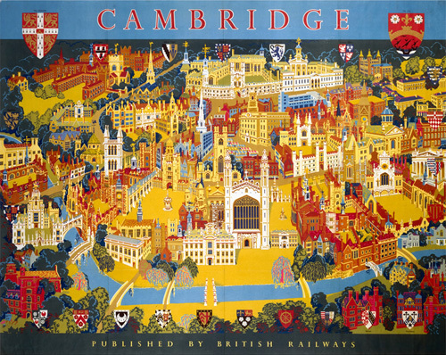 Cambridge - Colleges by National Railway Museum