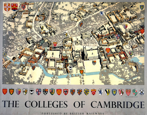 The Colleges of Cambridge by National Railway Museum