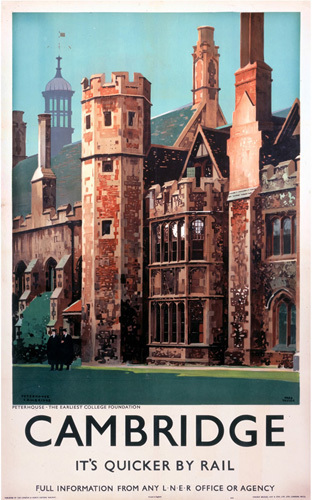 Cambridge - Peterhouse by National Railway Museum