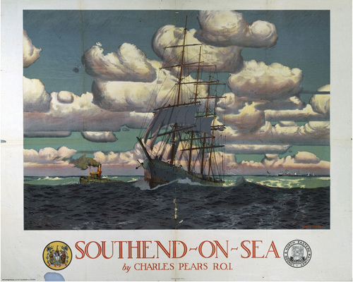 Southend-on-Sea - Sailing Ship by National Railway Museum