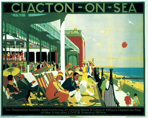 Clacton-On-Sea - Seafront by National Railway Museum