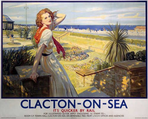 Clacton-On-Sea - It's Quicker by Rail by National Railway Museum