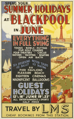 Blackpool in June by National Railway Museum