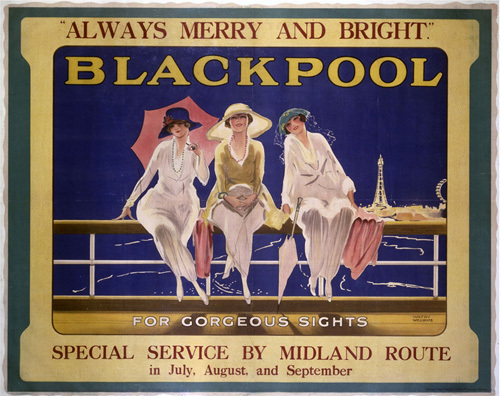 Blackpool - Three Ladies by National Railway Museum