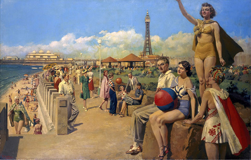 Blackpool - Seafront by National Railway Museum