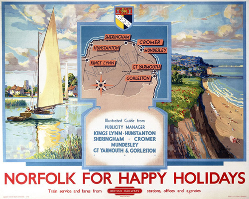 Norfolk for Happy Holidays by National Railway Museum