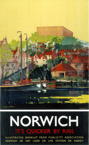 Norwich - It's Quicker by Rail by National Railway Museum