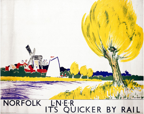Norfolk - Yellow Tree by National Railway Museum