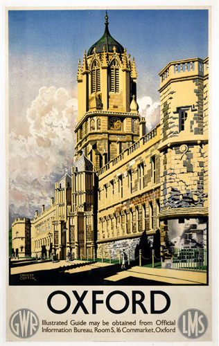 Oxford - Colleges by National Railway Museum