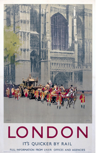 London - St Paul's Royal Procession by National Railway Museum