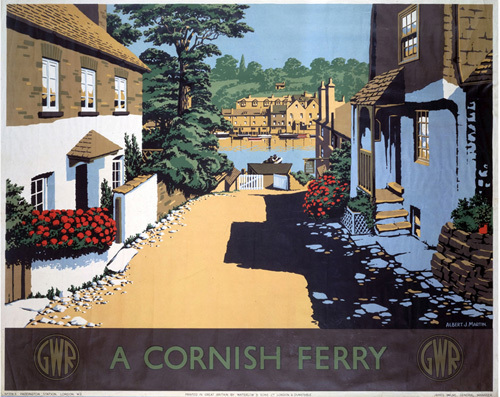 A Cornish Ferry by National Railway Museum
