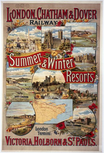 Summer and Winter Resorts - LCDR by National Railway Museum
