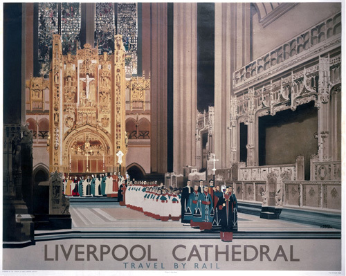 Liverpool Cathedral - Procession by National Railway Museum