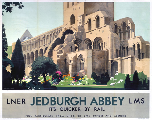Jedburgh Abbey by National Railway Museum