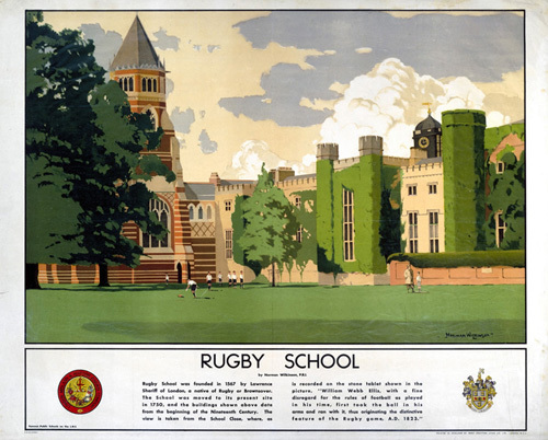 Rugby School by National Railway Museum