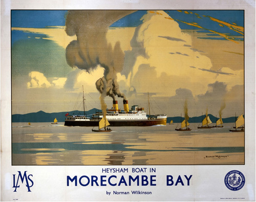 Morecambe Bay - Heysham Boat by National Railway Museum