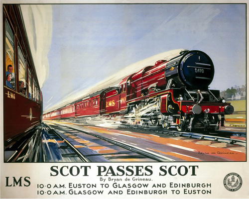 Scot Passes Scot by National Railway Museum