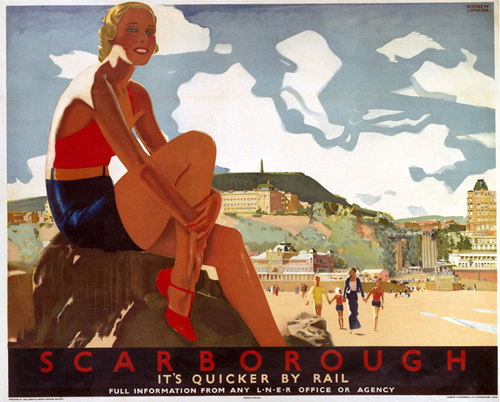 Scarborough - Beach by National Railway Museum