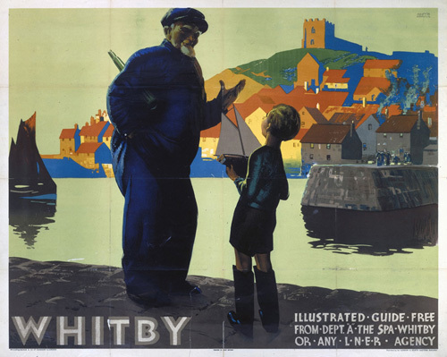 Whitby - Illustrated Guide by National Railway Museum