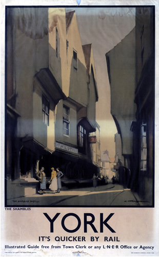York - The Shambles I by National Railway Museum