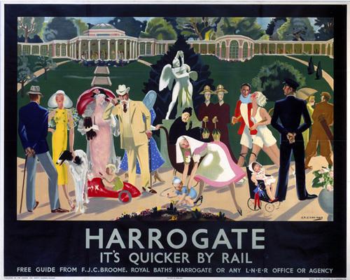 Harrogate - Gardens by National Railway Museum