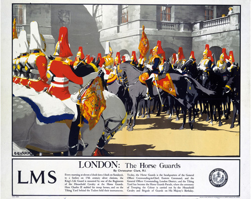 London - The Horse Guards by National Railway Museum