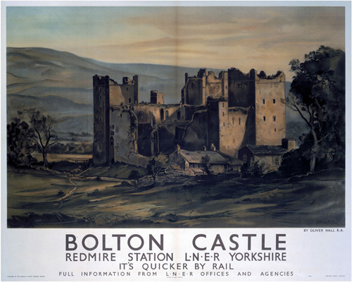 Bolton Castle by National Railway Museum