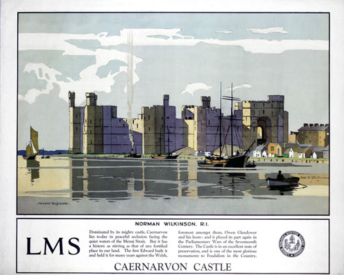 Caernarvon Castle by National Railway Museum