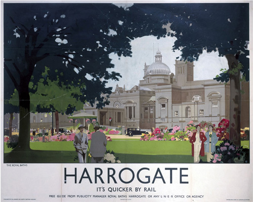Harrogate - Royal Baths by National Railway Museum
