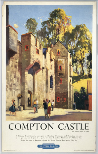 Compton Castle, Devon by National Railway Museum