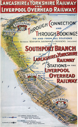 Southport Branch - Lancashire & Yorkshire Railway by National Railway Museum