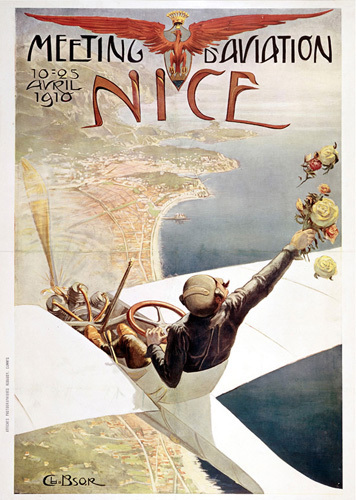 Nice - Air Race 1910 by National Railway Museum
