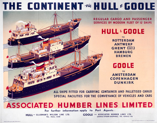 The Continent via Hull and Goole I by National Railway Museum