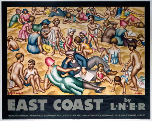 East Coast by LNER - Beach by National Railway Museum
