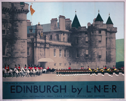 Edinburgh - Holyroodhouse by National Railway Museum